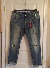 NWT VIGOSS Chelsea Boyfriend Jeans Womens Plus Size 22
