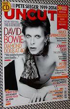 UNCUT Magazine, BOWIE, T.Rex, Springsteen, Johnny Cash, Peter Gabriel
