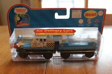 Thomas & Friends Learning Curve LC99126 Retired Ice Delivery Cars Real Wood New