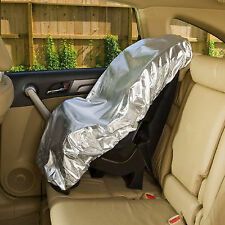 Baby Kids Childs Car Seat Cover Sun Shade UV Protector Dust Heat Insulation