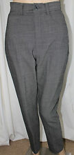 Banana Republic Grey Plaid Ladies Dress Pants Size 4
