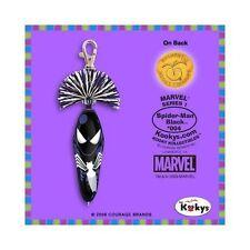2pk Black Spider-Man Pen Marvel Kooky Klicker Kollectible Clip Disney Series 1