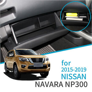 for Nissan Navara NP300 D23 2015-2019 Co-pilot Glove Box Storage Box Accessories