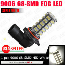 1x 350LMS White Car 9006 HB4 High Power 68-LED Fog/Driving DRL Head Light Bulb