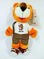 """Joyful Hodori Tiger Korea Olympic 1988 Mascot Plush Doll Takara TAG 10.5"""""""