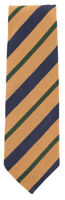 "New Finamore Napoli Light Brown Striped Tie - 3.25"" x 58.5"" - (TIESTRX214)"