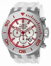 Invicta Subaqua 24656 Men's Round Analog Chronograph Date While Silicone Watch