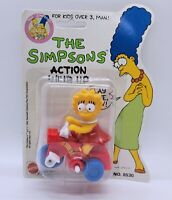 MATTEL THE SIMPSONS ACTION WIND UP LISA SIMPSON ***NEW IN PACKAGE*** 1990