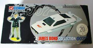 CORGI CLASSICS 007 JAMES BOND LOTUS ESPRIT & JAWS FIGURE SET 65001 BNIB