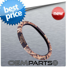 NEW DUCKS UNLIMITED STEERING WHEEL COVER SHIELD DOUBLE DUAL GRIP CAMO CAMOUFLAGE