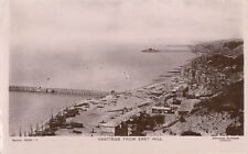HASTINGS (Sussex) : Hastings from East Hill RP-DAVIDSON BROS