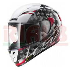 Casco Integrale LS2 FF323 ARROW R STRIDE visiera antinebbia white/titanium S