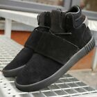 Kids Adidas Originals Tubular Invader Strap Gs Shoes Black Bz0302 Sz 40   70