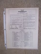 1938 Evinrude Fisherman Outboard Parts List 4267 4268 4269 MORE IN OUR STORE  L