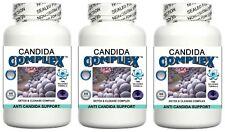 3 Candida Cleanse Pills Yeast Balance Fungus Odor Detox Thrush Digestive System