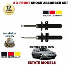 FOR FORD MONDEO ESTATE TOURER 2000-2007 NEW 2x FRONT SHOCK ABSORBER STRUT SET