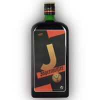 Jägermeister 1L Flaschen Aufkleber Bepper alle Buchstaben A - Z und Ziffer 0 - 9