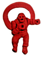Macman Iron-man Flexi Ring 1966 Vintage Marvel-mania Vending W/ Capsule-Red