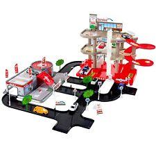 Auto Parkgarage Spielzeug Garage Spielstrasse Spielzeugauto 3 Etagen Parkhaus