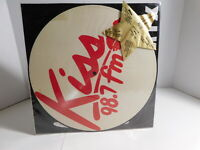 Kiss 98.7 FM Mix 12' Picture Disc 1985  Electronic, Funk / Soul  RARE