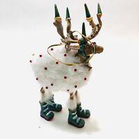 Patience Brewster Dashaway Blitzen Reindeer ORNAMENT Mackenzie Childs