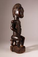 9966 Baule sitzende Figur Blolo Bla Ancestor Figur Patina