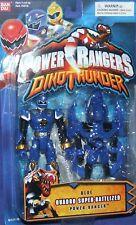 Power Rangers Dino Thunder Blue Quadro-Battlized Ranger New Factory Sealed 2004