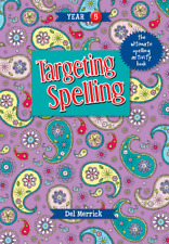 TARGETING SPELLING ACTIVITY BOOK YEAR 5  9781925490237 FREE SHIPPING