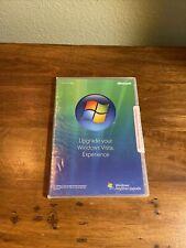 Windows Vista Anytime Upgrade 32 Bit - Original case and booklet