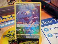 Pokemon Card Cosmic Eclipse Holo Wishiwashi 240/236. Full Art. Secret Rare NM