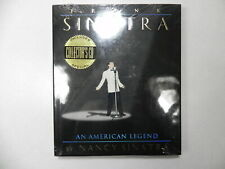 Frank Sinatra American Legend Hardcover Coffee Table Photo Picture Book W/ CD