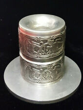 """Celtic Candle Holder Made in Ireland by Mullingar FINE PEWTER  2 3/4"""" high"""
