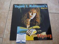 Yngwie J Malmsteen Autographed Signed Odyssey LP Beckett Certified