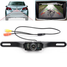 CMOS Car Rear View Reverse Backup Parking Camera HD Night Vision Waterproof 7LED
