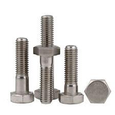 M6 M8 M10 M12 Hexagon Head Bolts 304 A2-70 Stainless Steel Part Threaded Screws