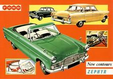 Ford Zephyr Mk II 1956 Car Jumbo Fridge Magnet