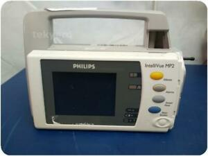 PHILIPS INTELLIVUE X2 M3002A VITAL SIGNS PATIENT MONITOR % (272703)
