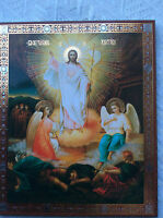 Icon Russian Christian Orthodox RELIGEOUS CHURCH RESSURECTION AND LIGHT