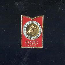 spilla pin MOCKBA 1980 Moscow Olimpic Games Mosca corsa Running Бег Laufsport