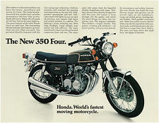 HONDA Brochure CB350F CB350 F 1972 1973 USA Sales Catalog REPRO