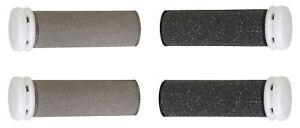 4 x Silk'n Micro Pedi Wet&Dry Hornhautentferner Nachfüll-Rollen für trockene und