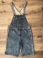 Vtg Guess Marciano Jeans Overall Shorts A$ap Stripe Hip Hop Rap 90s Fresh Prince