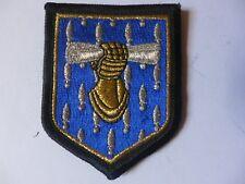 insigne militaire tissu