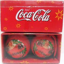 Coca-Cola 2 DECORAZIONI per ALBERO di NATALE