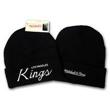 Original Mitchell & Ness Los Angeles Kings Beanie Mütze NHL schwarz