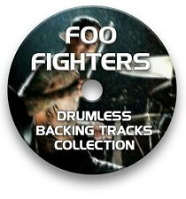FOO FIGHTERS MP3 ROCK DRUMLESS DRUMS BACKING TRACKS COLLECTION ON CD