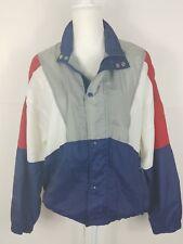 VTG 80s 90s Avait Sportif Color Block Striped Mens M Windbreaker Track Jacket