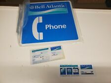NOS BELL ATLANTIC SIGN AND DIAL CARDS