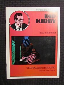 1980 RIP KIRBY The Scarred Hand #1 VF/NM 9.0 Pacific Comics Club Alex Raymond