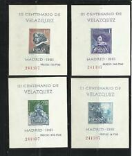 ESPAÑA. Año: 1961. Tema: III CENTº DE LA MUERTE DE VELAZQUEZ.